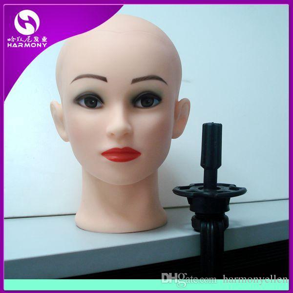 Training Head Holder, 1 Stück / Tasche, Farbe schwarz, beste Qualität Training Kopfstand / Mannequin Kopfhalter