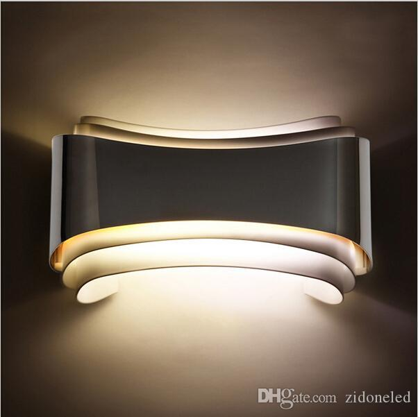 56f1f480b20d 2019 Modern Minimalist 5w Led Wall Lights Wall Sconces Bedside Lamp Indoor  Wall Mounted Lamps For Badroom Livingroom From Zidoneled, $34.17 |  DHgate.Com