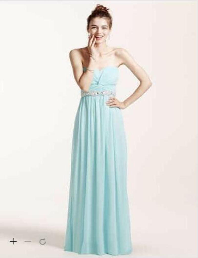 2016 Strapless Prom Dress With Ruched Bust And Beading With Ruching ...