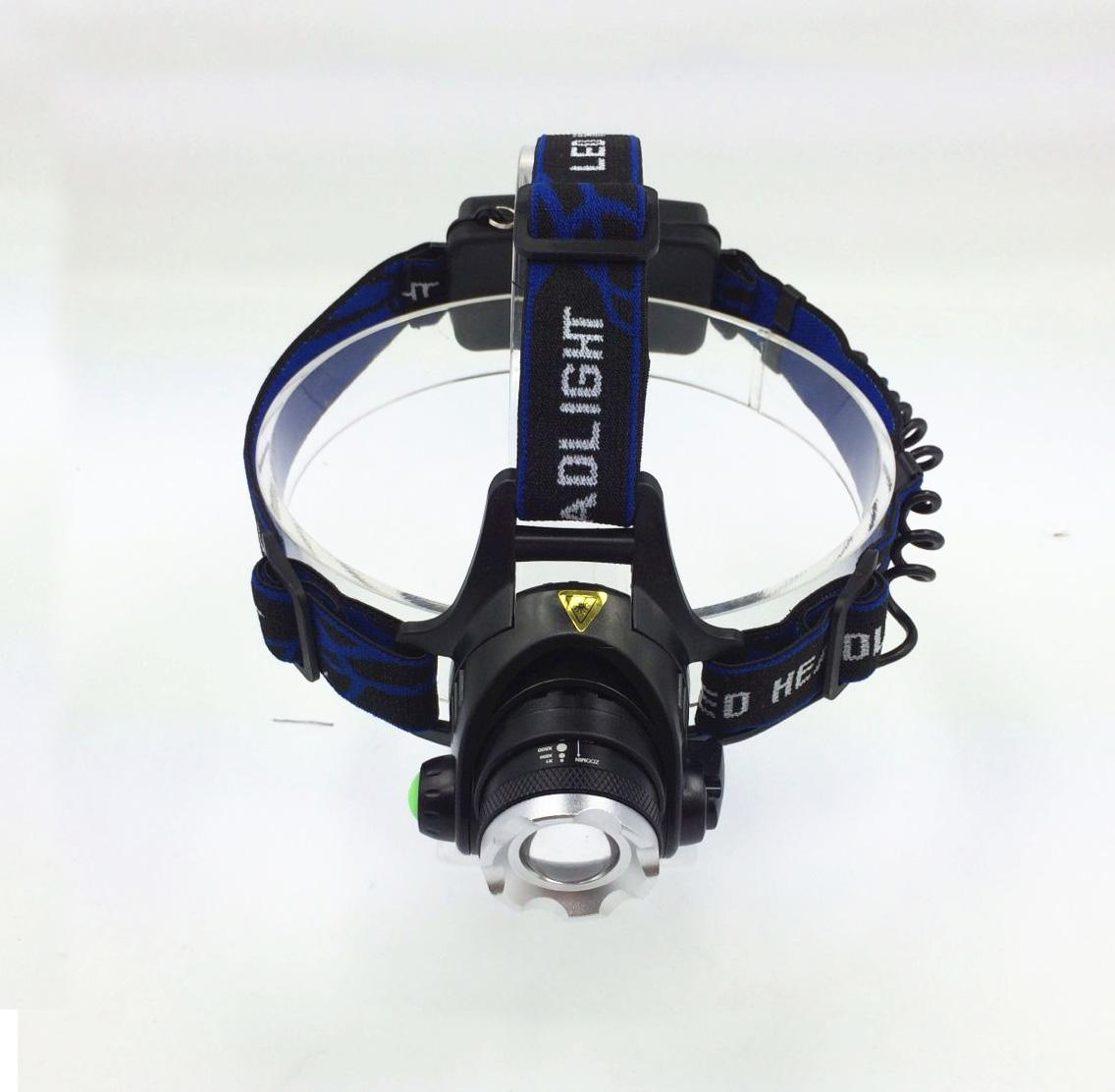 2016 Headlamp Head Torch Lamp Flashlight Strong Light Led Zoom 3 Fuso Mode Waterproof For Fishing Riding Headlight