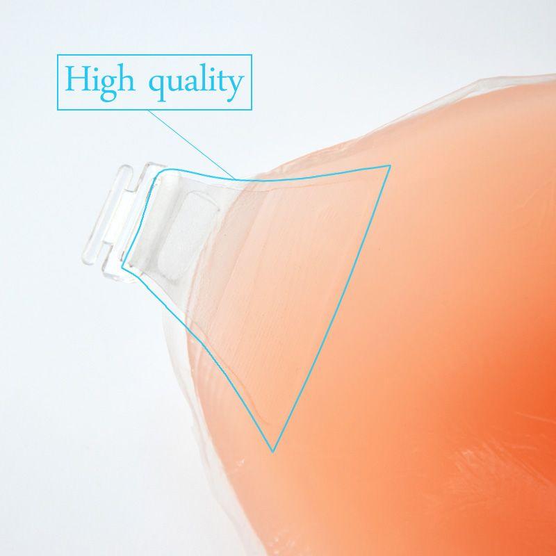 Hot Koop Silicone Invisible Thicken Model Gratis BH Fashion