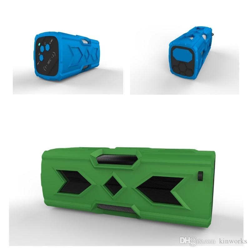 Alto-falante Bluetooth ao ar livre com Banco de Potência Função NFC Touch Control À Prova D 'Água 3D Surround 10 horas de Jogo Tempo