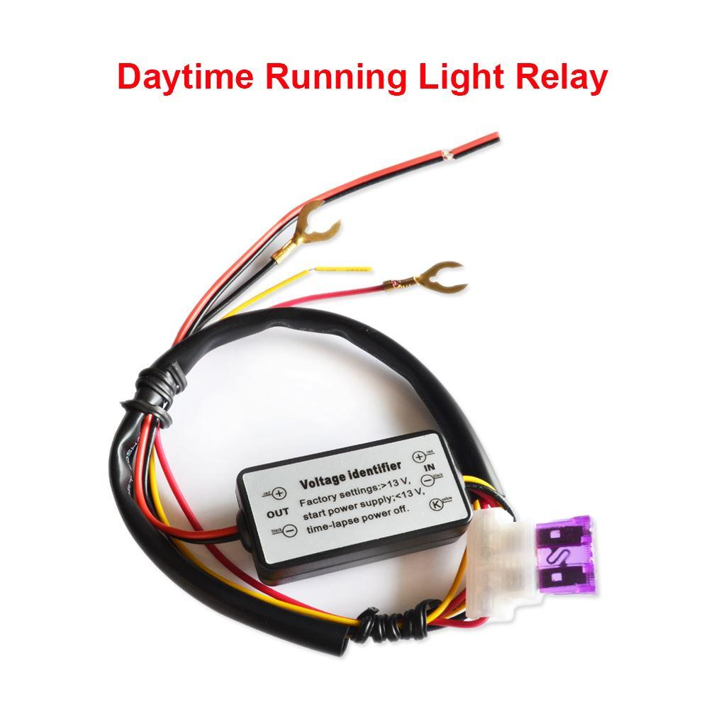 Car LED DRL Relay Daytime Running Light Relay Harness Auto Car ...