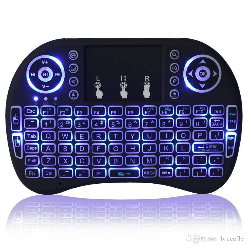 Rii Bluetooth Keyboard Android: Rii I8 Smart Fly Air Mouse Remote Backlight 2.4GHz