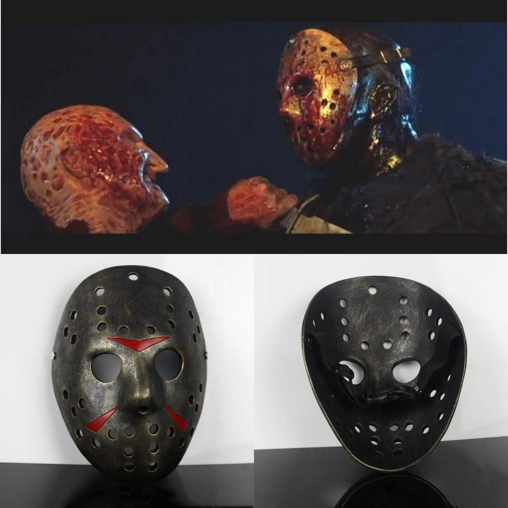 Freddy Vs.Jason Mask Party Halloween Masks Scary Masks Men Full ...