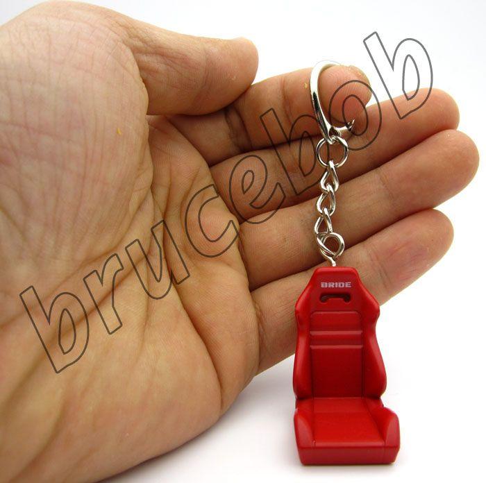 Recaro mariée Style Type R Pilote de voiture Seat SRD SPG POSITION POTEAU Porte-clés JDM 3D cadeau de porte-clés