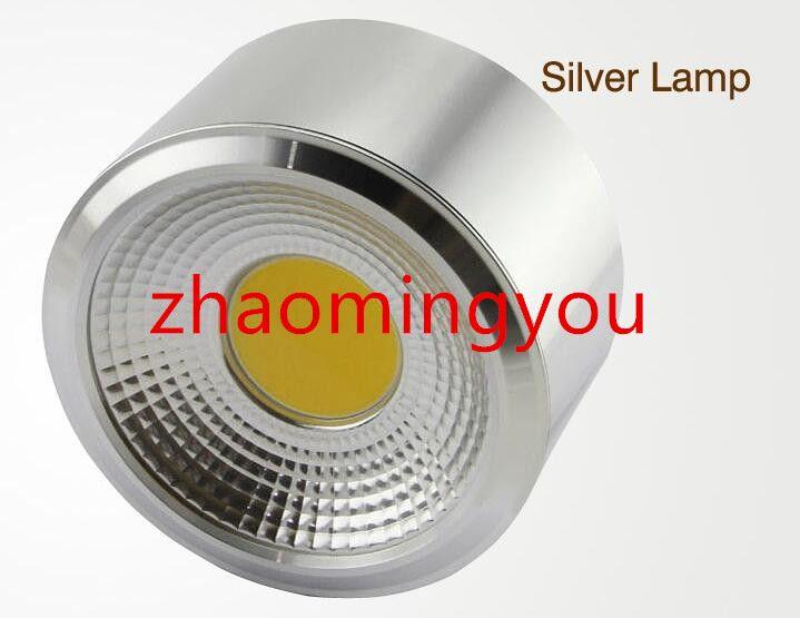 Dimmerabile LED COB Downlight 3W 5W 7W 10W 12W 15W 18W 85-265V Montaggio a parete Spot luce a led la casa Cucina Arredo bagno