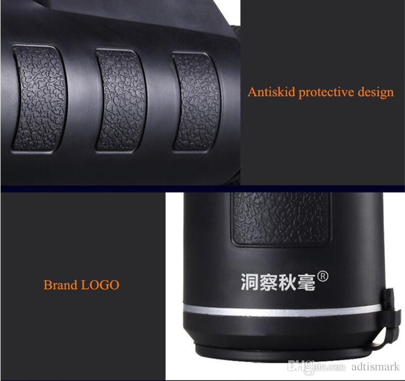 Mais novo Universal Comum 10x40 Caminhadas Concerto Celular Lente Da Câmera Zoom Telescópio Lente Da Câmera Suporte Do Telefone Para Smartphone