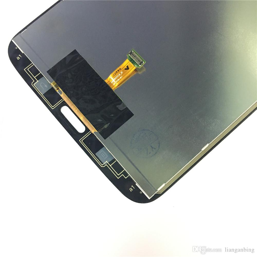 New LCD Display Touch Screen Digitizer Replacement For Samsung Galaxy Tab 3 8.0 T310 sm-T310 Black/White With Tempered Glass DHL logistics