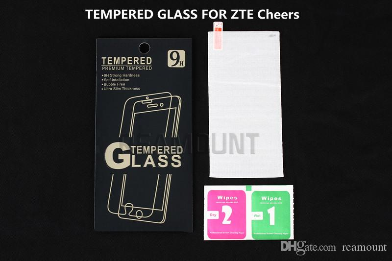Tempered Glass Screen Protector For ZTE Cheers Tempered Glass Explosion-proof Film