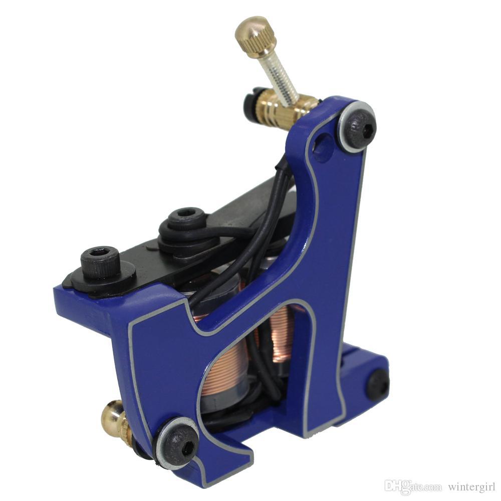 Handmade Professional Tattoo Machines Gun 10 Coils For Liner and Shader Top Quality Handmade Tattoo Gun