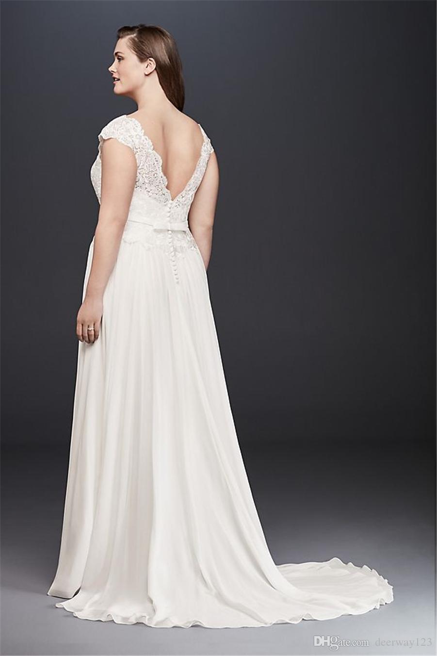 Иллюзионное кружевное и шифоновое свадебное платье больших размеров 9WG3851 с скользящим шлейфом свадебное платье свадебное платье vestido noiva casamento