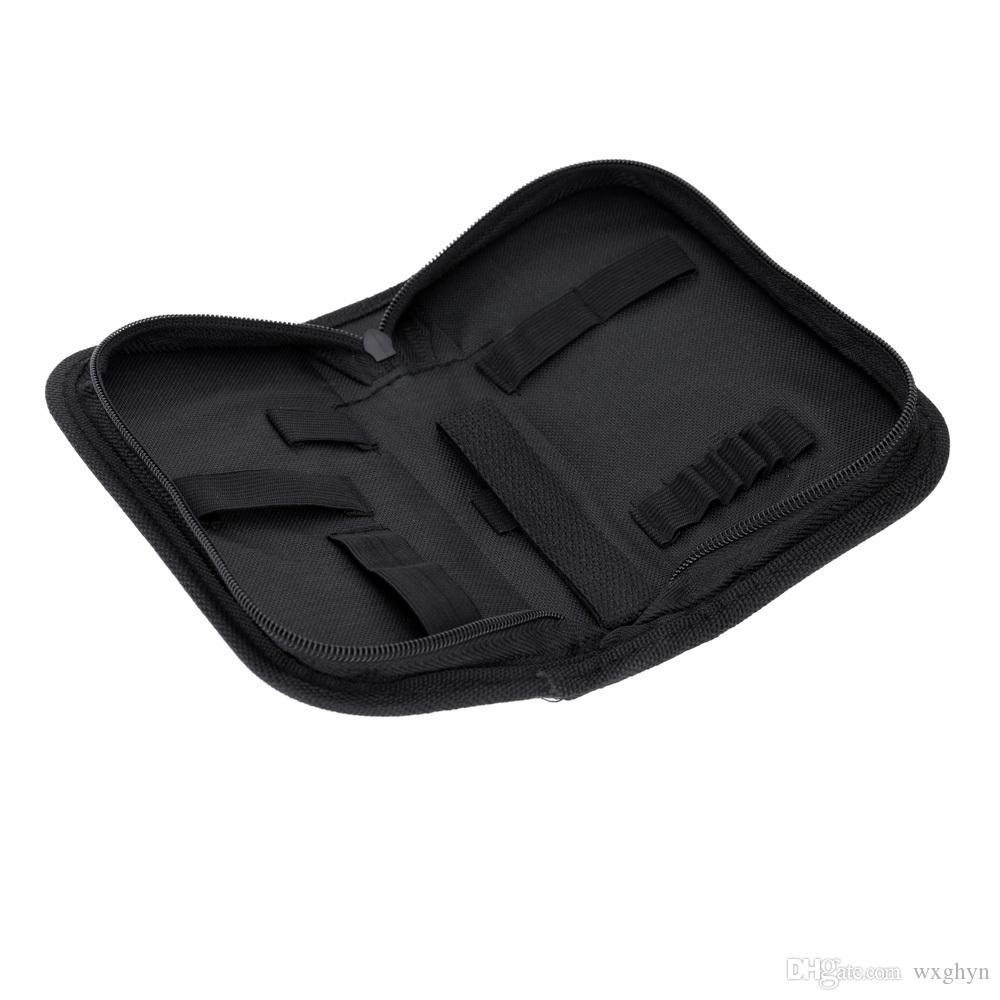 도매 시계 수리 도구 키트 전문 시계 제조 업체 수리 도구 블랙 휴대용 가방 지퍼 시계 수리 도구 키트 휴대용 수리 도구 가방
