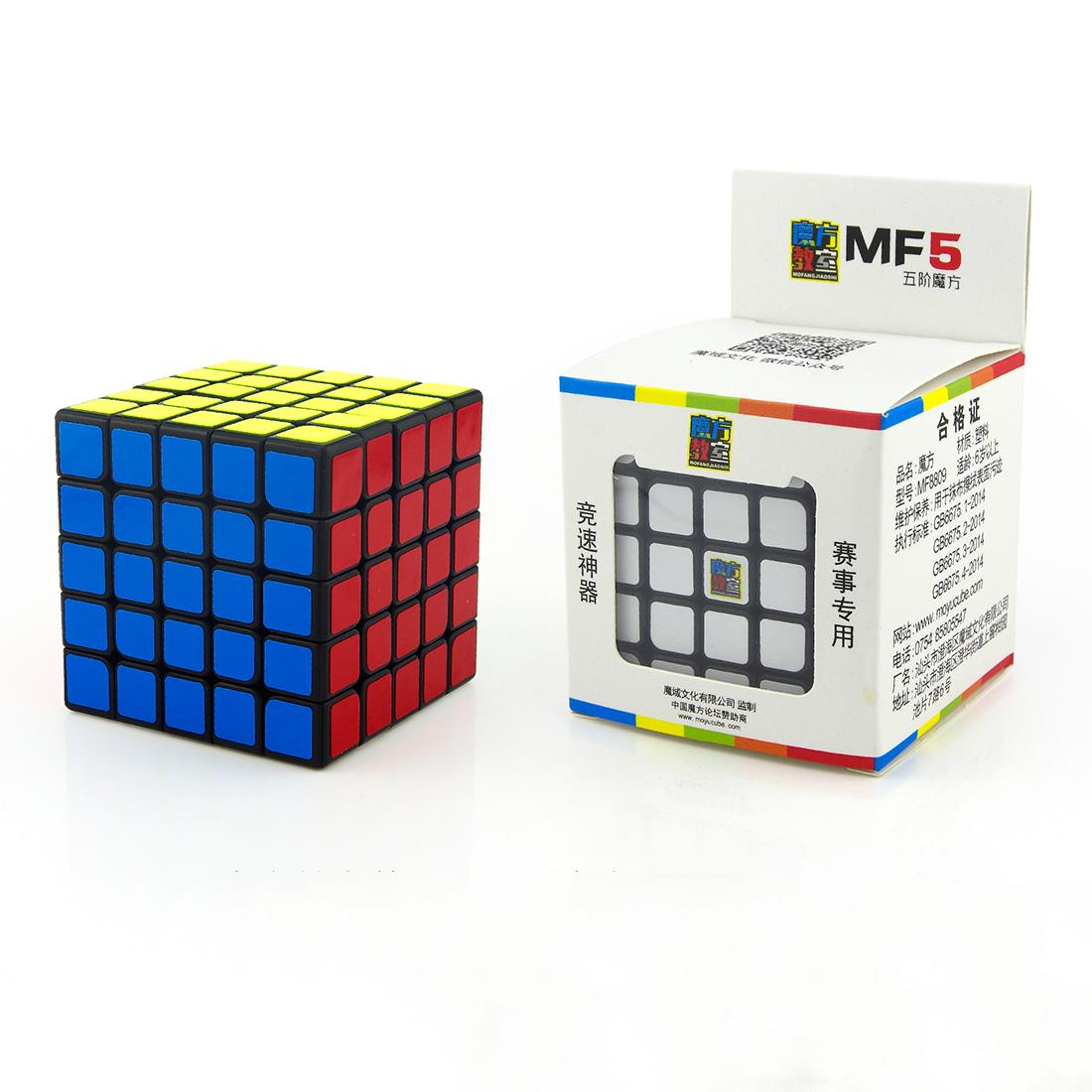 MoYu MOFANGJIAOSHI 5x5x5 Sticker Speed ​​Cube Magic Cube Magic Puzzle Brinquedos