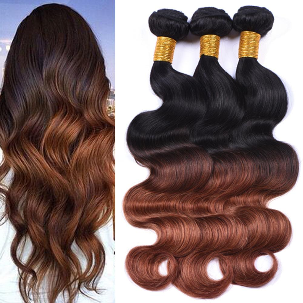 Diamond hair ombre blonde human hair extensions 1 bundles ombre see larger image pmusecretfo Choice Image