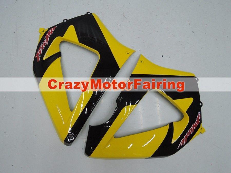 3Gifts Nuevos carenados de inyección ABS establecidos para HONDA 00 01 CBR929RR CBR 929 929RR 900RR CBR900RR 2000 2001 Cool amarillo negro gris