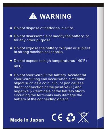 Da Da Xiong 2200mAh Explay Craft Battery per Explay Craft