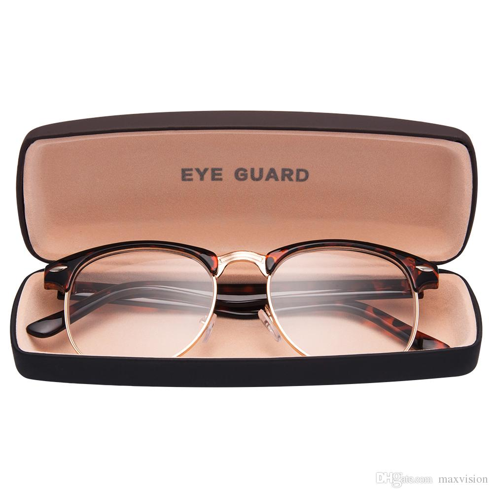 0e3f797cf6f Round Half Frame Metal Spring Hinges Classic Reading Glasses Readers Unisex  Demi Reading Glasses Unisex Demi Online with  11.98 Piece on Maxvision s  Store ...