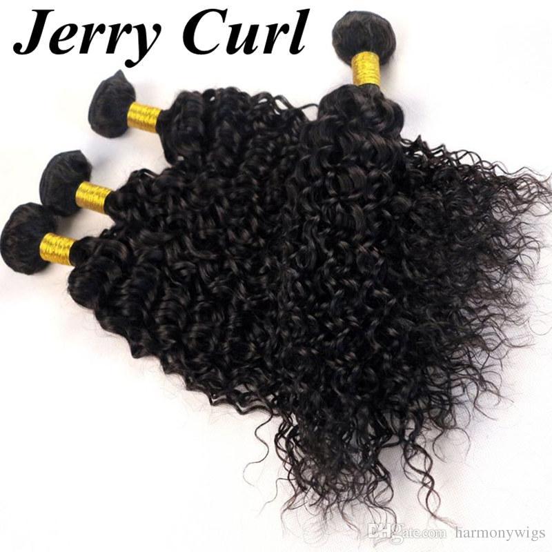Manojos brasileños del pelo de la armadura del pelo humano de la Virgen del pelo paquetes de la onda 8-34 pulgadas Extensiones peruanas del teñido del indio peruano de Malasia sin procesar