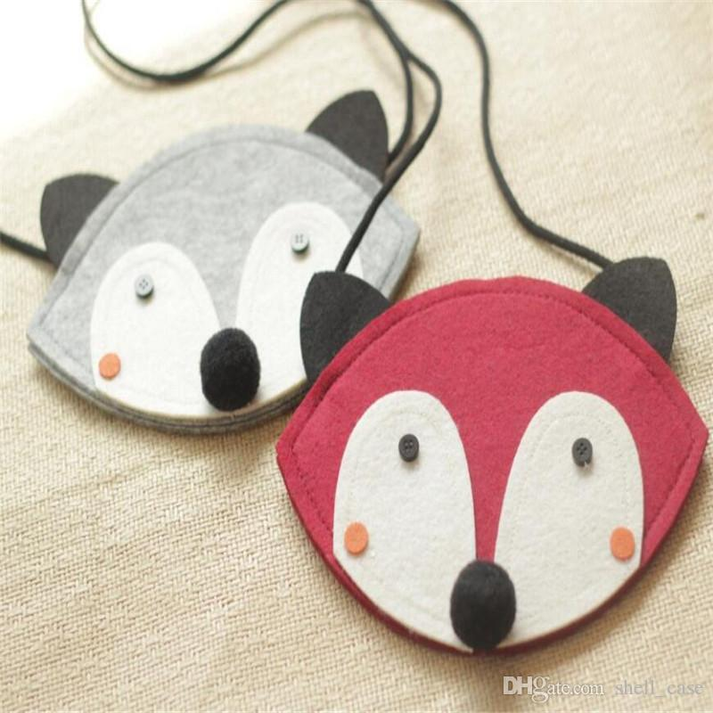 Sale! Cute Fox Bag Kids Mini Messenger Bag One Side Purse Handbag ...