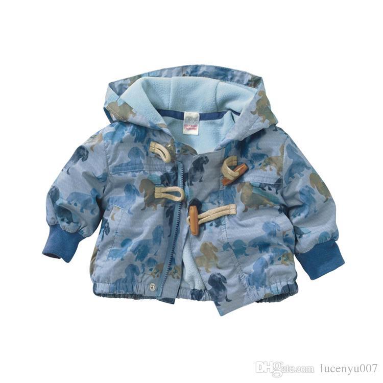 92842fb1f4bfa 1 3Y Baby Winter Overalls Baby Boy Hoodie Jacket