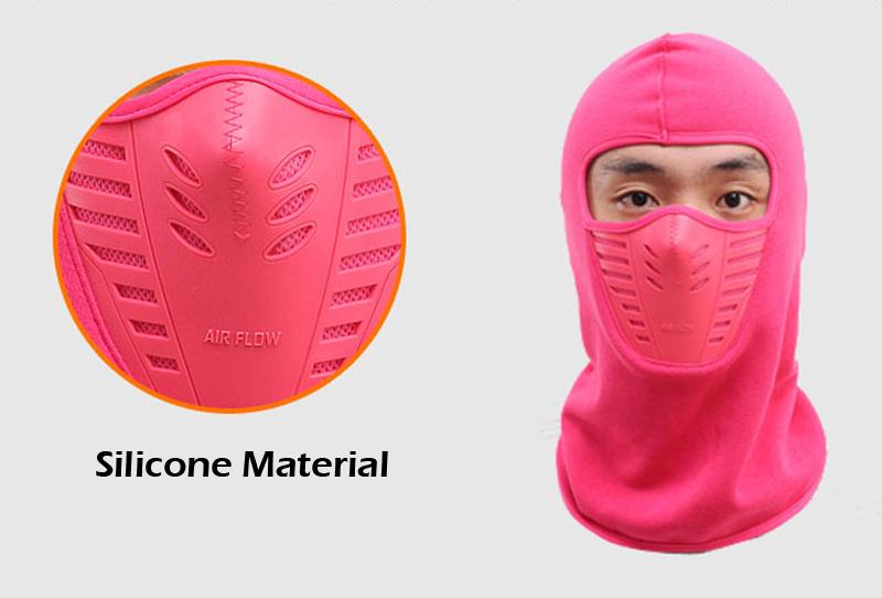 6 cores Balaclava Hood - à prova de vento Máscara protectora da cabeça Warmer Headwear Protector para esqui, ciclismo, motocicleta Outdoor Sports