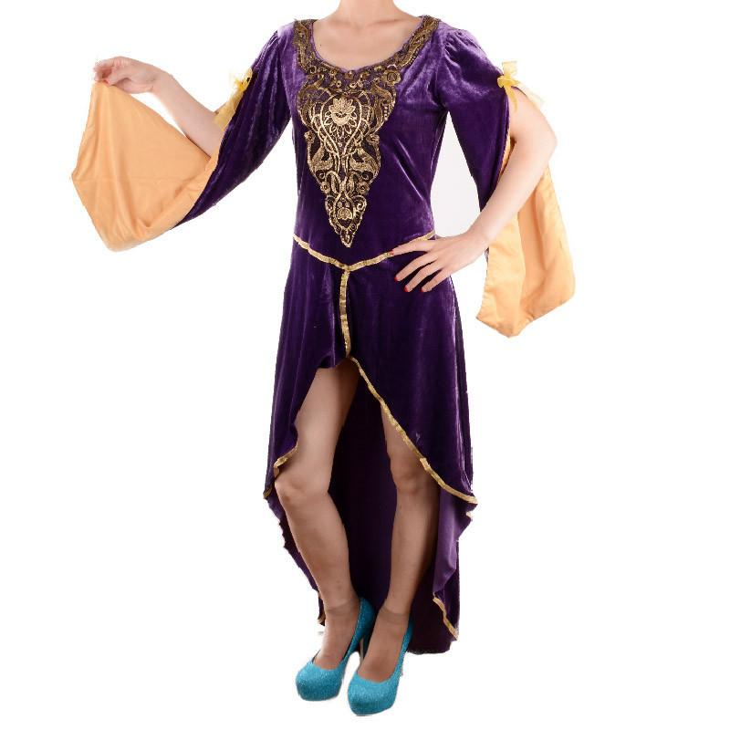 Sexy Renaissance Queen Costume Womens Adult Medieval Ball Gowns Halloween Costumes for Women Cosplay Party Fancy Dress