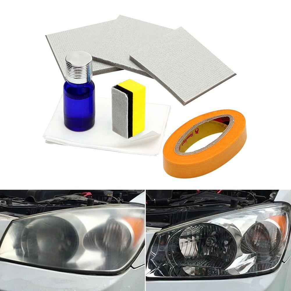 2019 Car Headlamp Polishing Headlamp Brightener Kit Anti Scratch