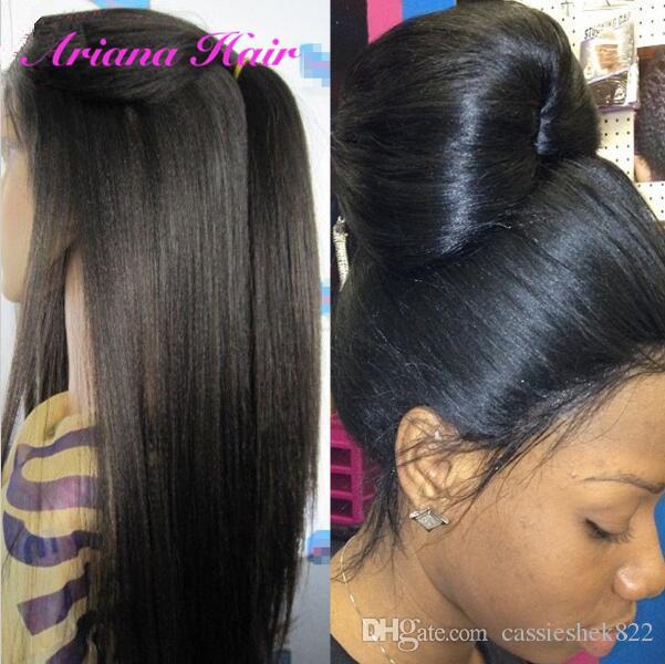 Brazilian Virgin Human Hair Lace Wigs with