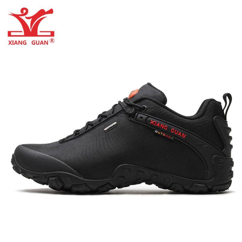 Chaussures Xiangguan Sport En Imperméable Antidérapant De Femmes Acheter Noir Pour Chaussure Bottes Plein Hommes Trekking Montagne Randonnée Respirant rCxEQBoWde