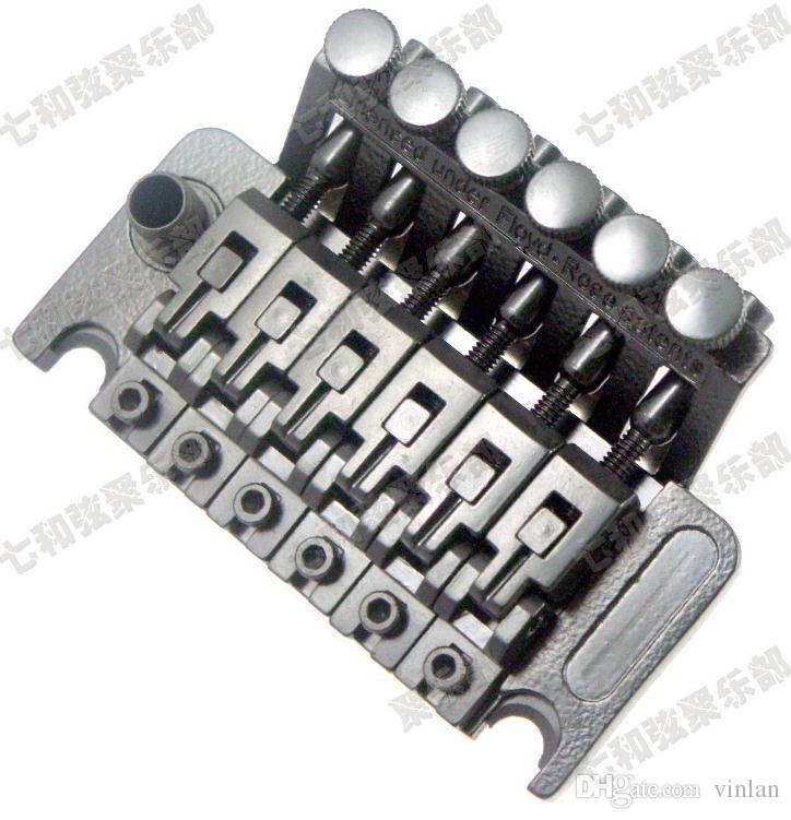 B001 Black Tremolo Bridge Double Locking Systyem Corde tirate chitarra elettrica Ponte Bridge chitarra elettrica parti