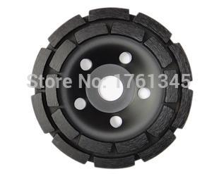 """9"""" diamond grinding 230mm cup wheel double row discs grinding wheels tools for concrete,marble,granite"""