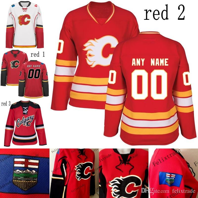 9519ec31223 ... new zealand 2018 womens 2017 calgary flames custom jersey 20 curtis  lazar 10 kris versteeg 44