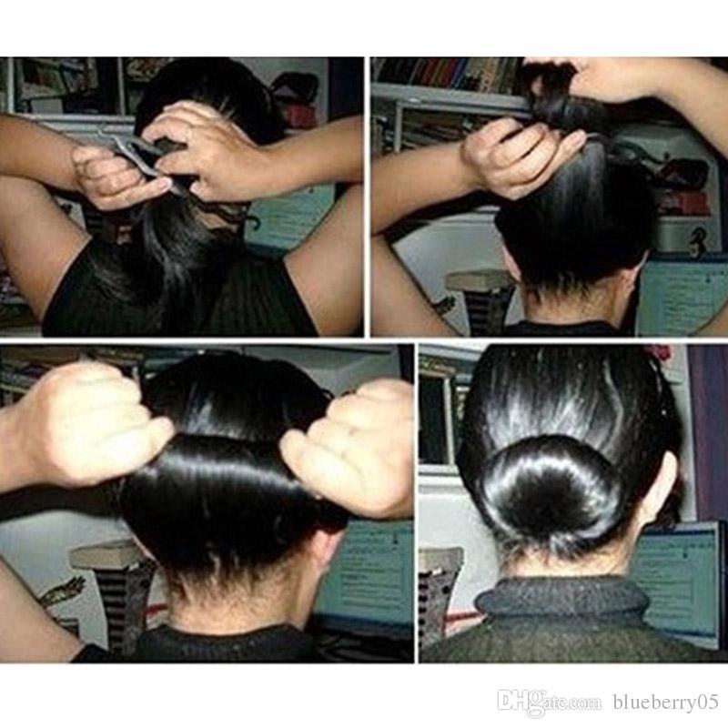 Strumenti lo styling dei capelli Set Magic Hair Bun Clip Maker Forcelle Roller Kit Braid Twist Set Sponge Styling Accessories