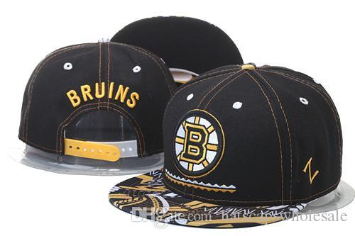369baa20d75 Good Quality Men S Boston Bruins Snapback Hats Logo Embroidery Sports  Adjustable Ice Hockey Zephyr Caps Flat Visor Baseball Hats Hat Stores Custom  Trucker ...