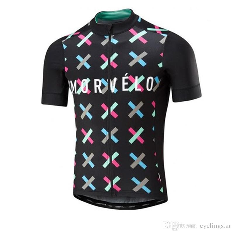 2017 morvelo Pro team Summer cycling jerseys Quick dry breathable mountain bike shirts ropa Ciclismo mtb bicycle clothing L1102