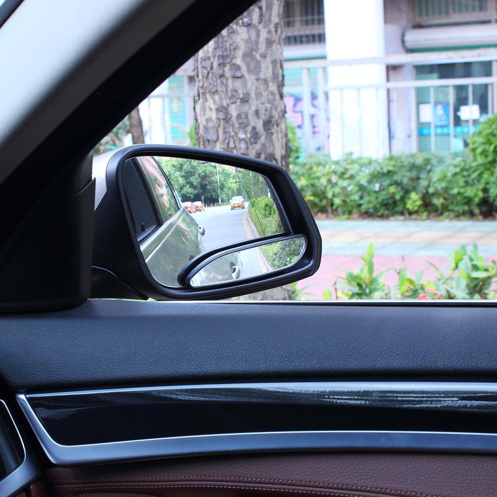 자동차 자동 후면보기 블라인드 스팟 미러는 시각적 범위를 향상 시각적 범위 와이드 뷰 안전 미러 블랙