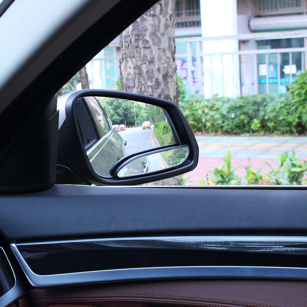Auto Auto View View Blind Spot Specchio Migliora la gamma visiva Ampia Vista Specchi di sicurezza Nero