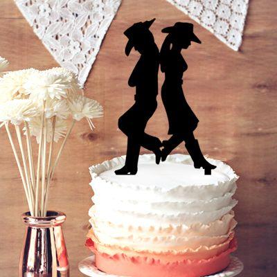 Rustic cowboy and cowgirl wedding cake topper groom and bride rustic cowboy and cowgirl wedding cake topper groom and bride wedding cake topper country and western cake topper for wedding decor wedding decoration diy junglespirit Choice Image