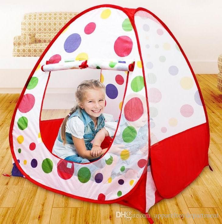 Kids Play Tents Children Indoor Outdoor Pop Up Tent Baby Game ...