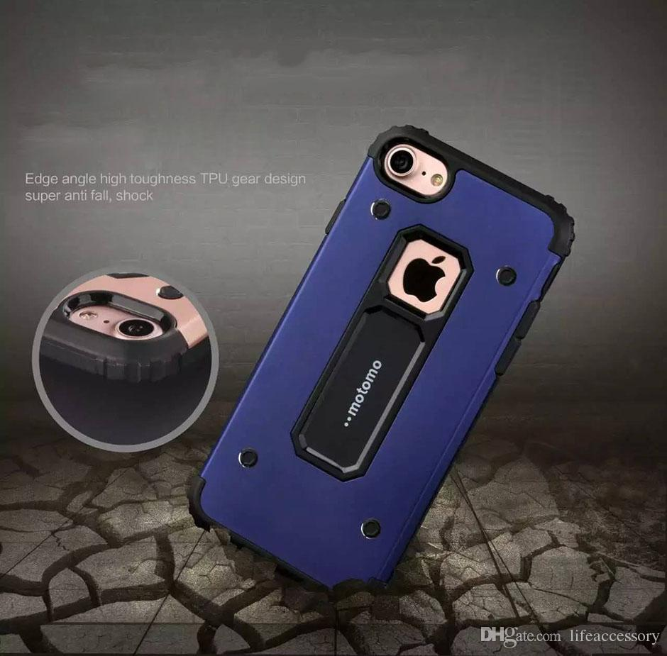 Motomo Case Aluminum Metal with TPU Hard Back Shockproof Covers for iphone x 7 6 5 Samsung Galaxy S8 S8 plus note8 s7edge