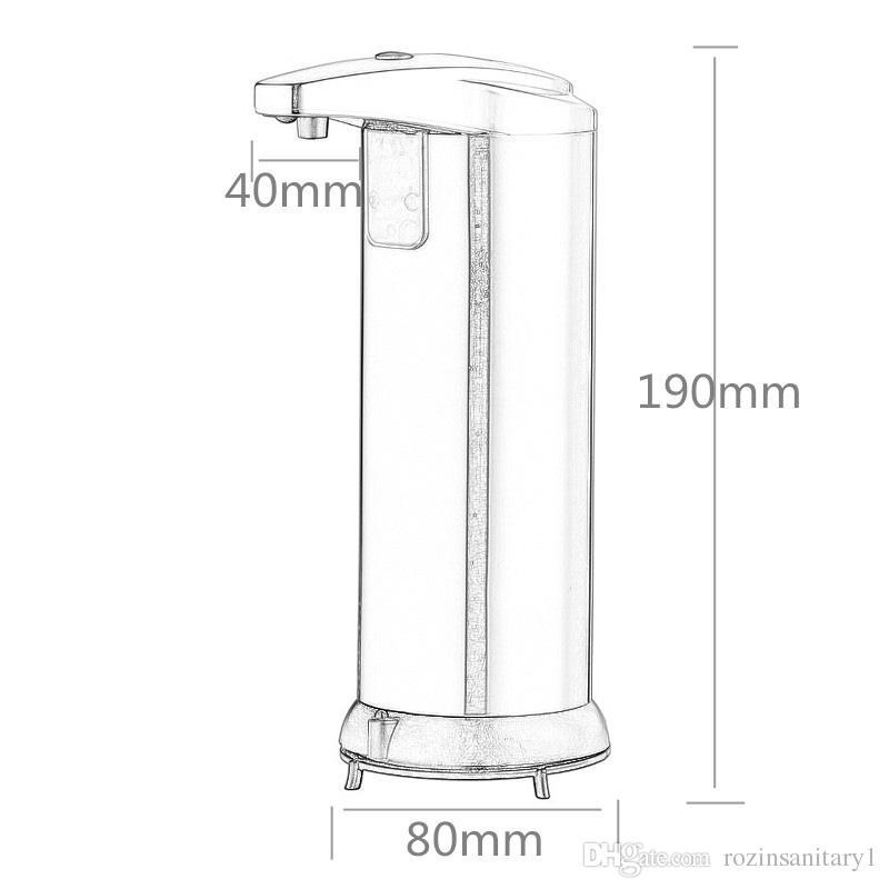 400 мл Автоматический дозатор жидкого мыла встроенный инфракрасный умный датчик бесконтактный дезинфицирующий дозатор для кухни ванной комнаты