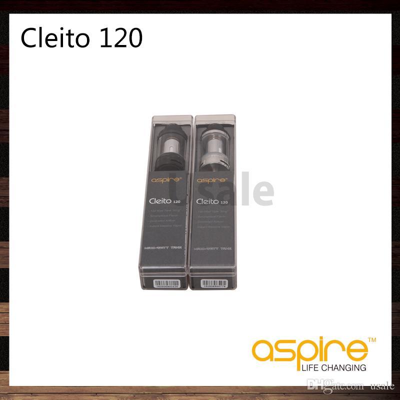 Aspire Cleito 120 Tank 4 мл Емкость Cleito 120 Распылитель с Cleito 120 Катушка 0.16 Ом 100% Оригинал