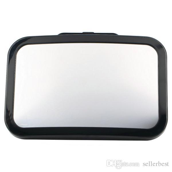 Регулируемый автомобиль заднее сиденье зеркало ребенок перед задняя Уорд вида подголовник креплением зеркала квадрат безопасности ребенка Дети монитор красочные мешок