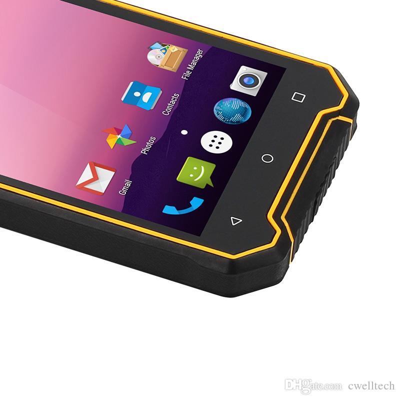 5 Inch Screen Quad Core IP68 Waterproof Shockproof 2GB RAM 16GB ROM 4G Rugged cell phone JEASUNG P8