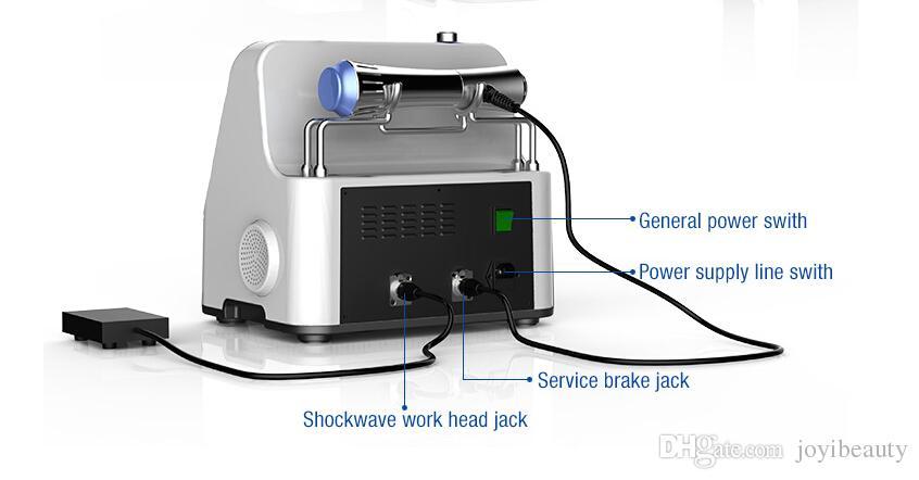Neues Schmerz-Weg-System-Ellenbogen-Knie-in hohem Grade effektive Schock-Wellen-Maschine Ultraschall