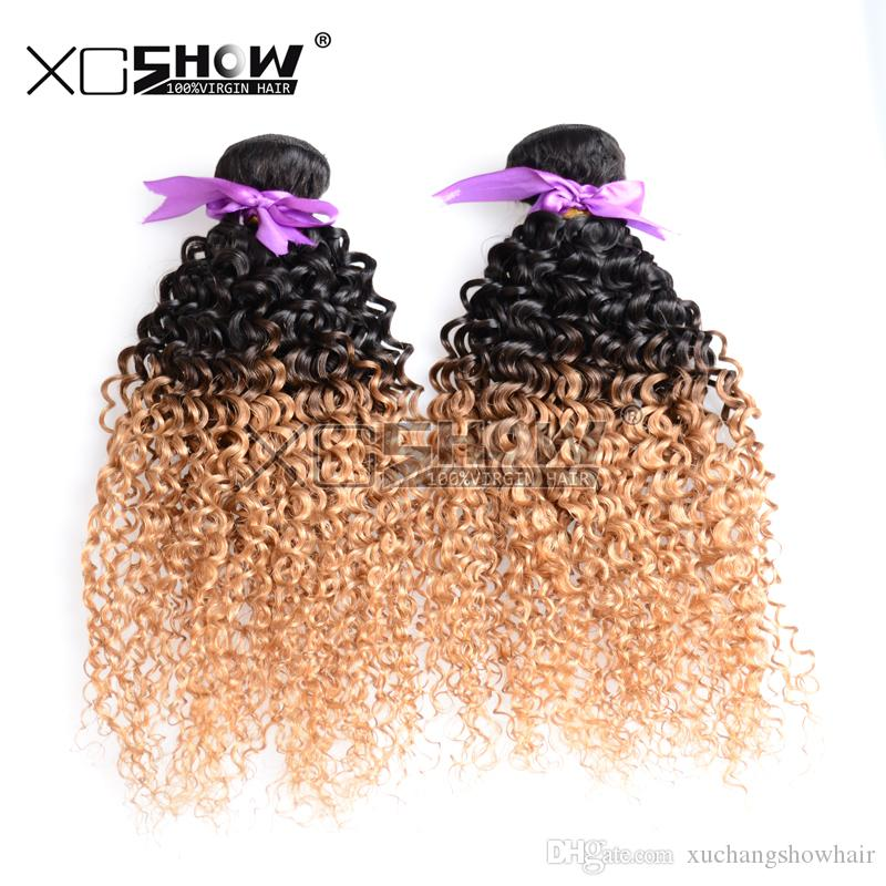 Malaysian Hair 9a Ombre Hair Extension Weft Remy Hair Accessories