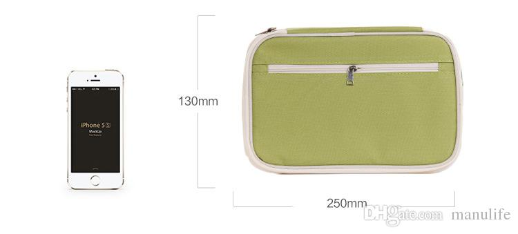 Hot sale south korea multifunctional travel passport packages High quality Travel cards cash tickets holder hand bag