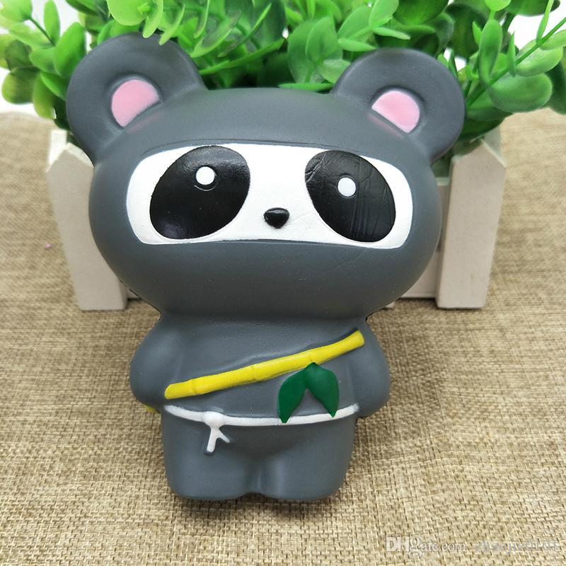 14cm Jumbo Ninja Katze Squishy Spielzeug Telefon Riemen Langsam ...