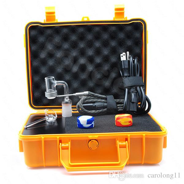 Pelic Quartz Nail Electric Dab Nail Complete Kit withTemperature Controller 100w for Rig Oil Glass Bongs water pipe